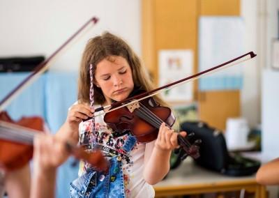 Curso de instrumento piano/violín