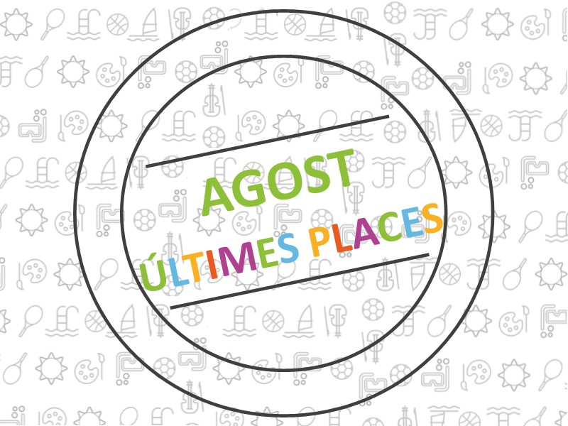 Agost últimes places_CAT